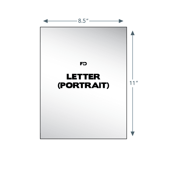 custom ncr business form letter portrait 8.5 x 11