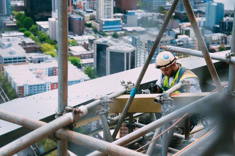 construction site safety hazard inspection