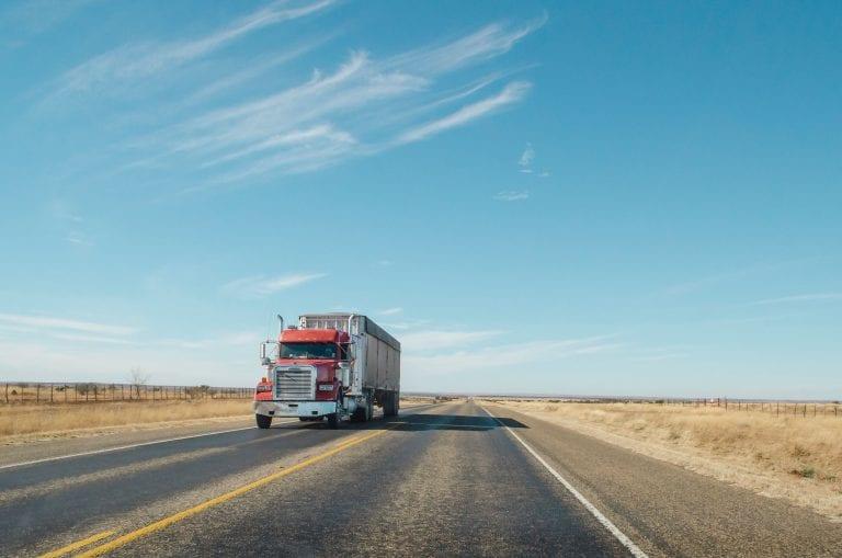 transportation long haul tractor trailer