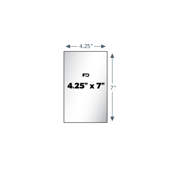 custom ncr form 4.25 x 7