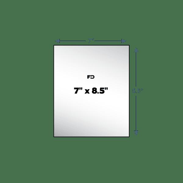 custom carbonless form size 7 x 8.5