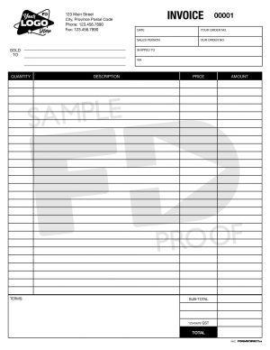 Invoice INV2 ncr custom form template