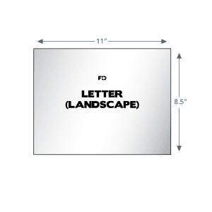 custom ncr business form letter landscape 11 x 8.5