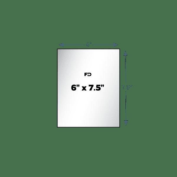 custom card 6 x 7.5 size