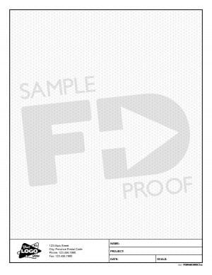 engineering isometric pad letter size 8.5 x 11