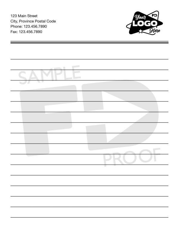 Pocket Lined Notepad 4.25 x 5.5